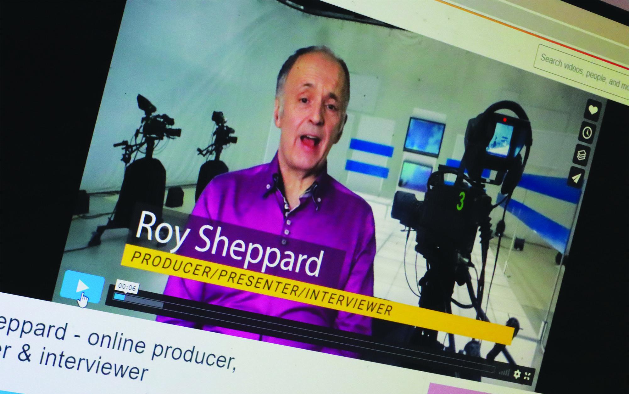 Roy Sheppard on-screen