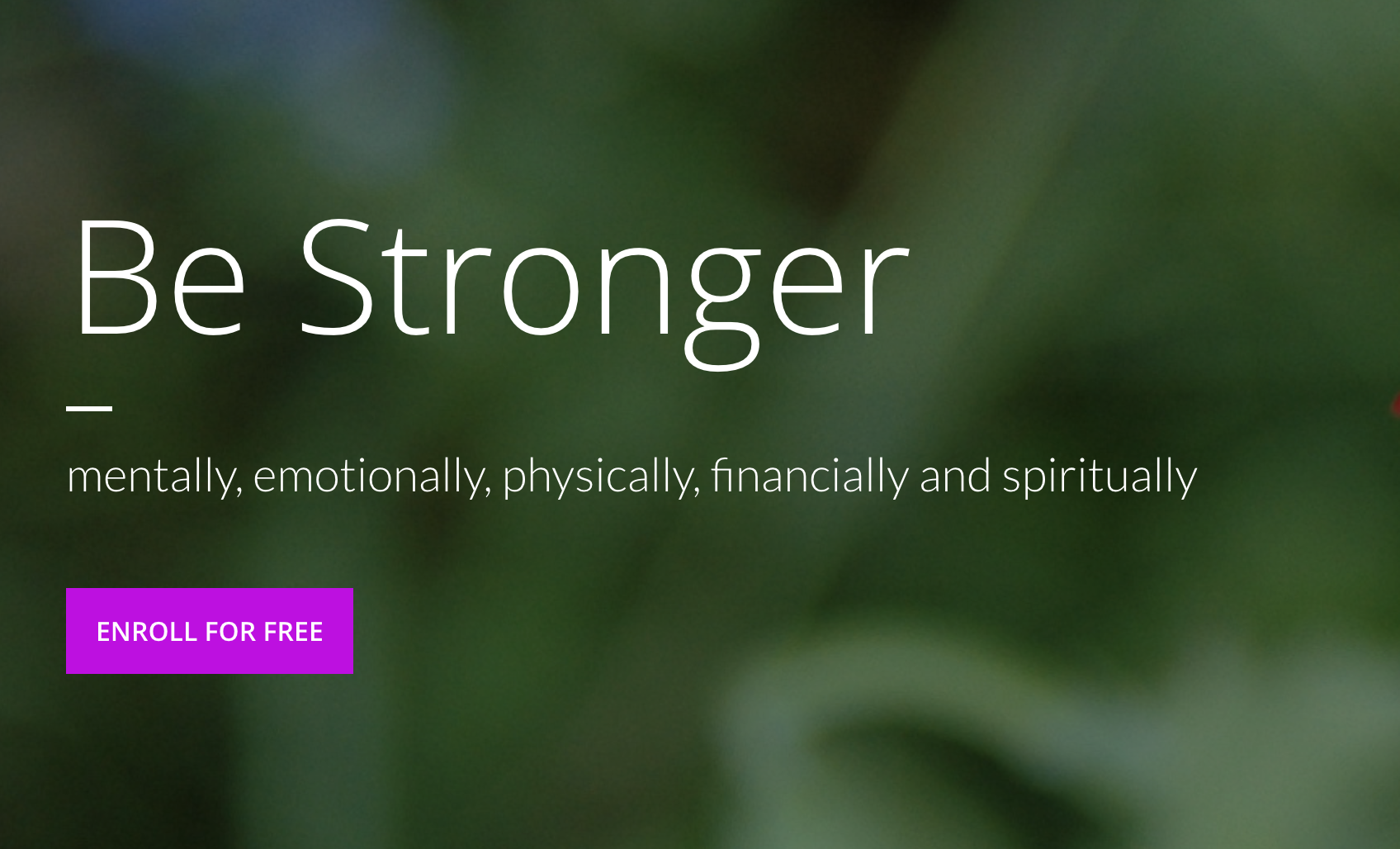 build resilience and emotional strength